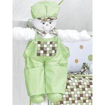 Boneco Porta Fraldas Verde Quarto Bebê Menino Lb1277estiliza