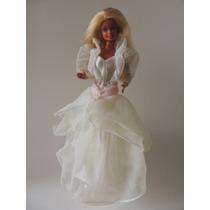 Barbie Estrela Um Sonho De Noiva 1993 (n-92) Raridade