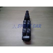 Botão De Vidro Dianteiro Esquerdo S40 01 À 04 - Sport Car