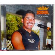 Cd Zezo - Vol. 8 Ao Vivo - Teclados Samba Canção