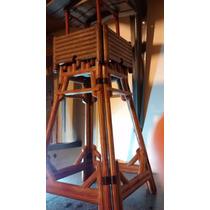 Playmobil Rara Torre Western Faroeste Trol Antiga Anos 80