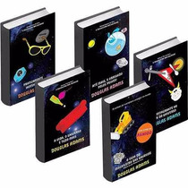 Kit 05 Livros - Coleção O Guia Do Mochileiro Das Galáxias