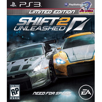 Jogo Ps3 - Need For Speed Shift 2 - Usado