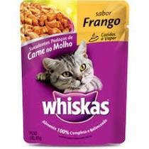 Caixa Sashe Whiskas Frango Para Gatos 85grs Com 12 Unidades