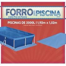 Forro Para Piscina 2000 Litros Marca Mor