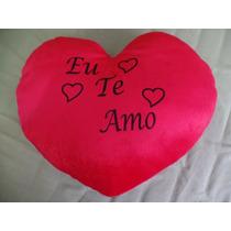 Coração De Pelucia Eu Te Amo 46 Cm Comprimento 39cm Largura