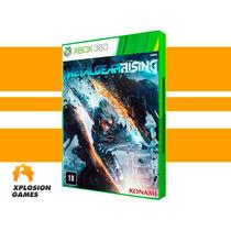 Jogo Metal Gear Rising Xbox 360, Mídia Física. Original Novo