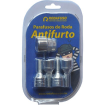 Parafusos Anti Furto Rodafuso 31cra M12 X 1.25 Fiat