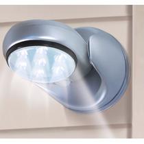 Lâmpada Sem Fio Led Com Sensor De Movimento Gira 360graus -$