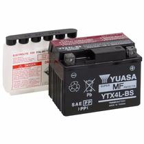 Bateria Yuasa Ytx4l-bs Titan125 Ks Biz100 Ks Cg150ks Até 05