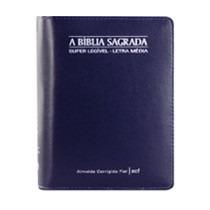 Bíblia Sagrada Super Legivel Letra Media Azul