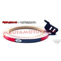 Fita Refletiva De Roda Universal - Speed Style -vermelho