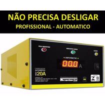 Carregador Bateria Automatico 12 Volts 20-ah Bi-volt