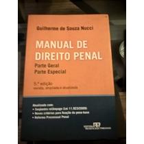 Manual De Direito Penal Parte Geral, Parte Especial - Livro