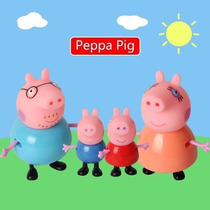 Peppa Pig E Familia - Mini Figuras Fisher Price