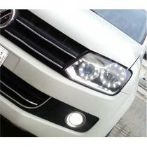 Kit 4 Angel Eyes Universal Land Rover Gol Palio Astra Jeta