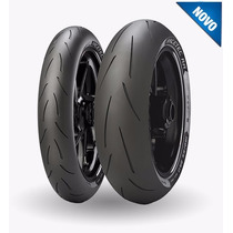 Combo Pneu Moto Metzeler Racetec Rr 120/70-17 + 200/55-17