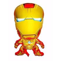 Balão Metalizado Vingadores, Homem De Ferro Kit/12 Unidades