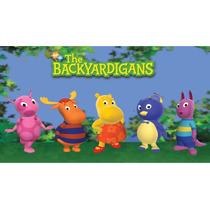 Big Painel De Festa Backyardigans 2x1