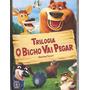 Dvd O Bicho Vai Pegar - Trilogia - Volume 1, 2 E 3 (3 Dvds)