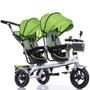 Triciclo Empurrador Bicicleta Carrinho Duplo Crianças