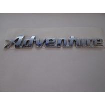 Emblema Cromado Adventure P/ Fiat Idea .../2010 - Bre