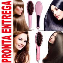 Escova Alisadora De Cabelos Elétrica Fast Hair Straightener