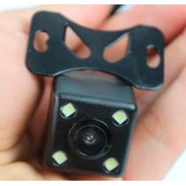 Camera De Re Com Led Veicular Para Carro Caminhao Ou Van