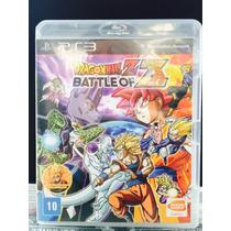 Jogo Dragon Ball Z Battle Of Z Playsation 3, Original, Novo