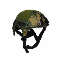Capacete Tático Paintball Airsoft Camuflado Digital Ibx