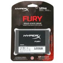 Hd Ssd 120 Gb Hyperx Fury - Kingston - Retire Sp - Cap