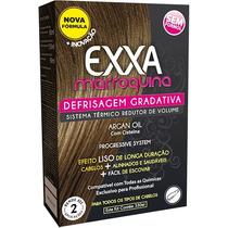 Kit Exxa Defrisagem Gradativa Marroquina Argan 330ml