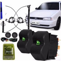 Kit Vidro Eletrico Gol Bola / G2 C/ Modulo Inteligente
