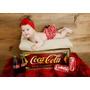 Caixote Rústico Coca-cola E Kombi Newborn - Box Dupla-face