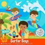 Pacote Com 10 Kits De Praia Surf Piscina Imagens Clipart