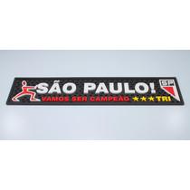 Bar Mat São Paulo Preto / Tapete Copo / Barman/bartender/man