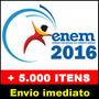 Kit Completo Enem 2016 E Vestibulares - Apostilas, Livros E+