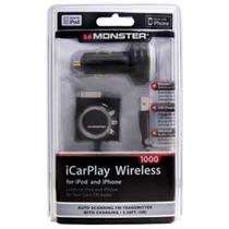 Transmissor Fm Icarplay Wireless 1000 Monster Iphone E Ipod