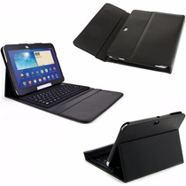 Capa Case Couro Teclado Samsung Galaxy Tab 4 10.1 T530 T535.
