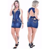 Vestido Pit Bull Jeans - Nova Coleção! Cód. 18616