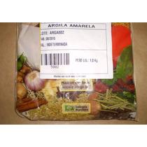 Argila Amarela Pó 1 Kg - ***** De 10,80 Por R$ 9,80 *****