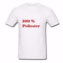 Lote 50 Camisetas Lisa 100% Poliester Camisa Para Sublimação