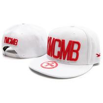 Boné Branco Snapback Ymcmb Pronta Entrega Brasil