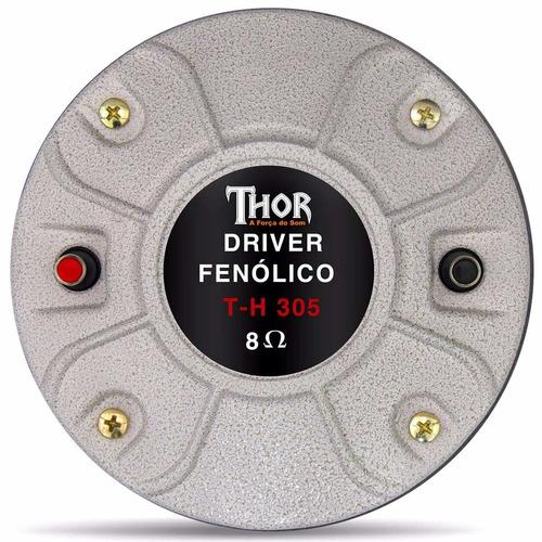Driver Thor Th - 305 120w Rms + Forte Que A Selenium D305 305