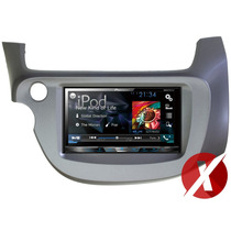 Central Multimídia Honda Fit 2009 Pioneer Avh-x5780tv Tv Dvd