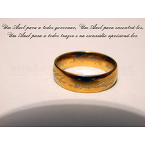 O Um Anel - 100% Em Aço! Senhor Dos Anéis - The One Ring
