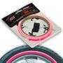 Adesivo Friso Fita De Roda Speed Style Rosa Fluorescente