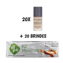 20 Base Unhas Fracas Tratamento La Beauté + 20 Brindes