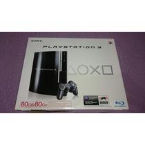 Playstation 3 Fat Novo Lacrado