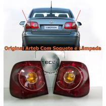 Par Lanterna Polo Sedan 09 10 11 2012 2013 14 Original Arteb